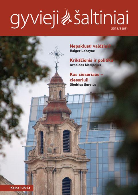 Gyvieji šaltiniai 2013/3 (63)