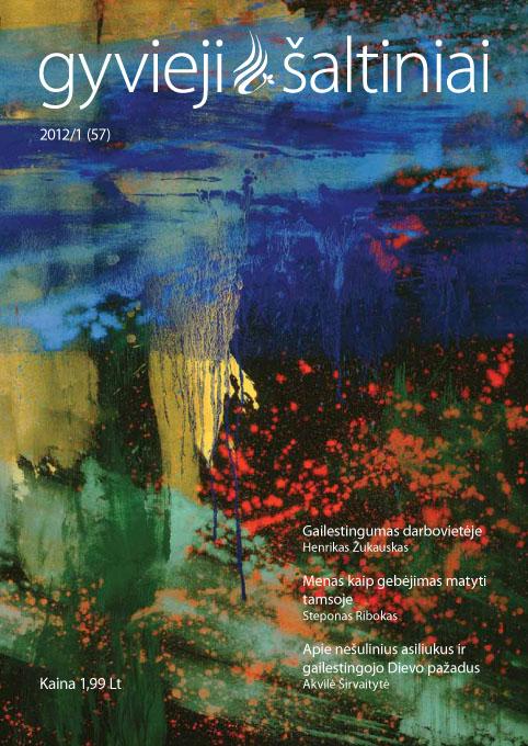 Gyvieji šaltiniai 2012/1 (57)