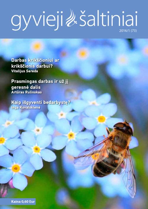 Gyvieji šaltiniai 2016/1 (73)